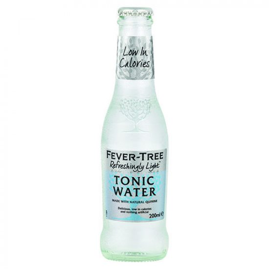 Fever Tree Light Tonic 200ml 24x200ml Case