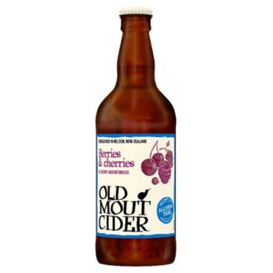 Old Mout Berries and Cherries Cider 12x500ml [Short Dated]