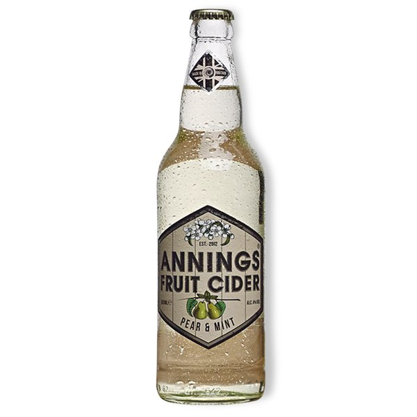 Annings Pear and Mint Cider 4% 500ml