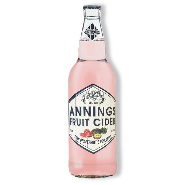 Annings Pink Grapefruit and Pineapple 4% 500ml