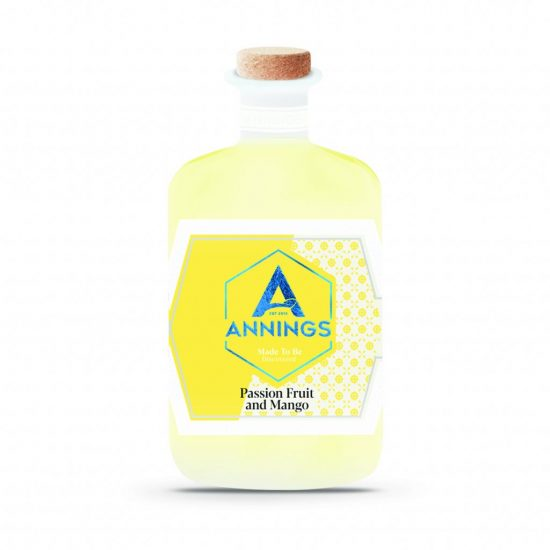 Annings Passion Fruit and Mango Gin 70cl