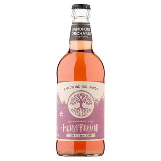 Sandford Orchards Fannys Bramble 4% 500ml
