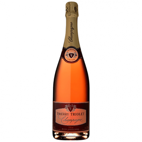 Thierry Triolet Rose Champagne 75cl