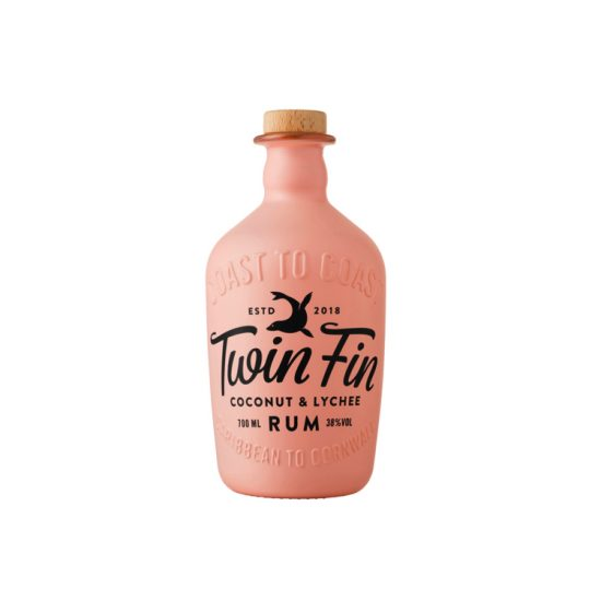 Tarquins Twin Fin Coconut and Lychee Rum 70cl