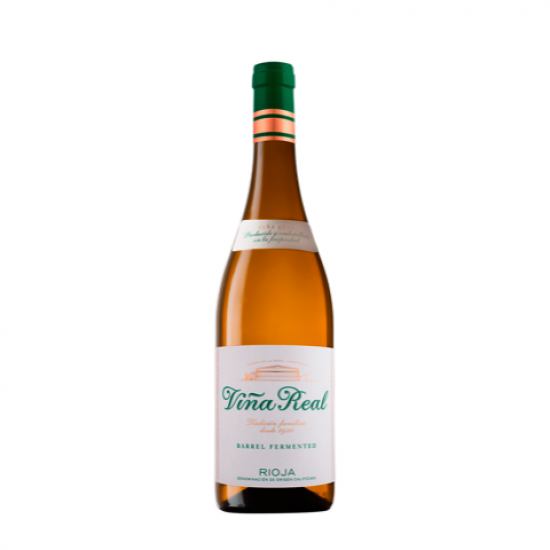 Vina Real Barrel Fermented Blanco Rioja 75cl