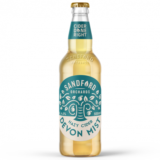 Sandford Orchards Cider Devon Mist 4.5% 500ml