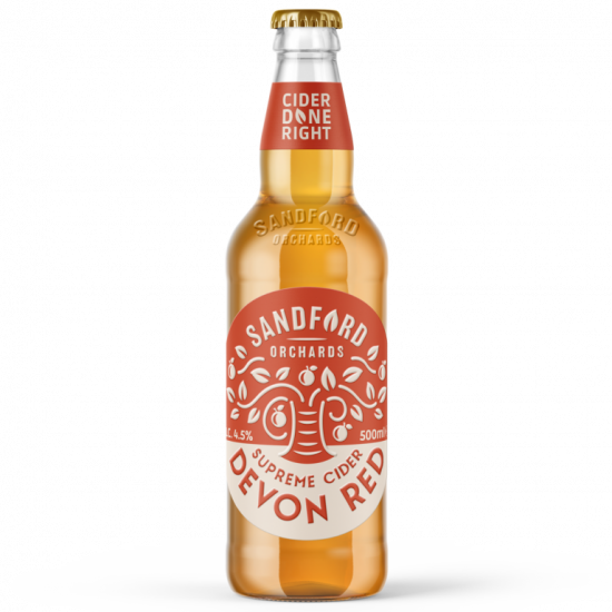 Sandford Orchards Devon Red 4.5% 500ml