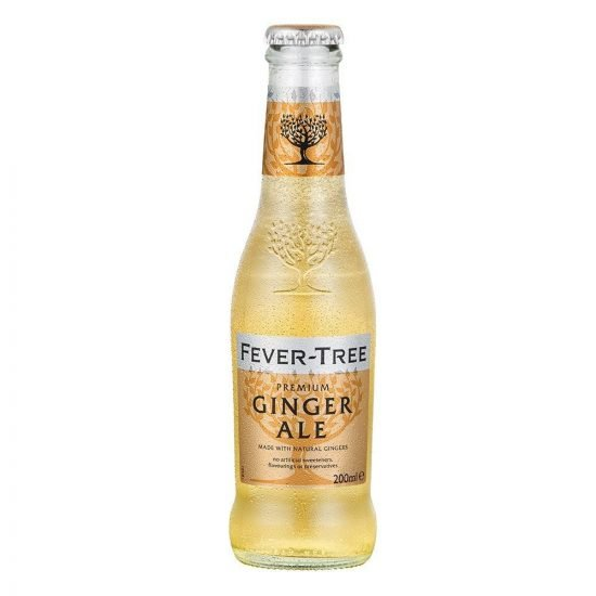 Fever Tree Ginger Ale 24x200ml Case