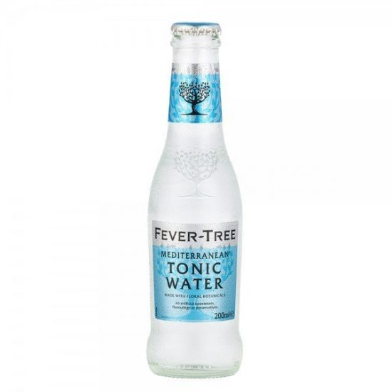 Fever Tree Mediterranean Tonic 24x200ml Case