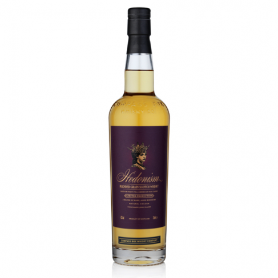 Hedonism Whisky Blended Grain 70cl