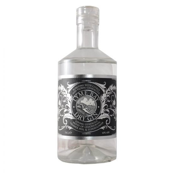 Lyme Bay Dry Gin 70cl