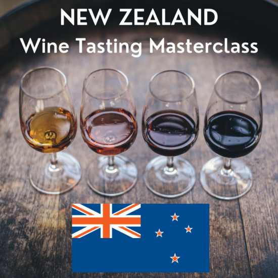 New Zealand Masterclass Wine Tasting